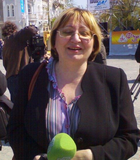 Анна Конюкова в Евпатории
