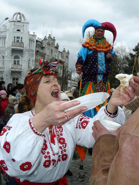 праздник в Евпатории