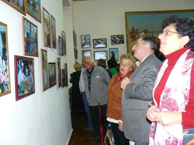 Фото выставка Марка Агатова в Евпатории