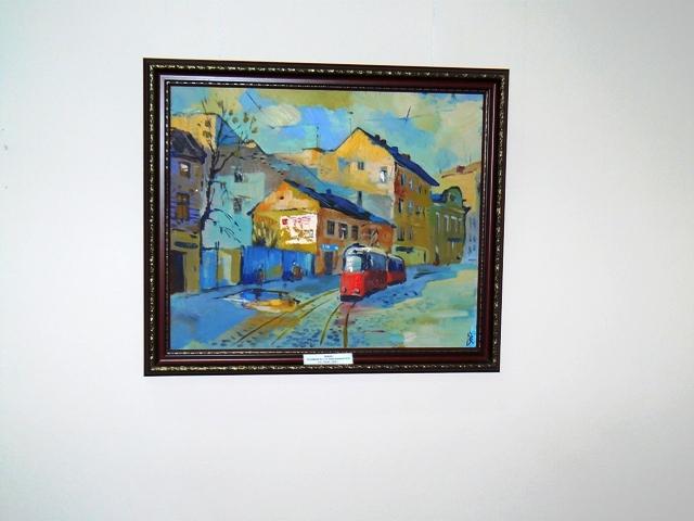 Евпатория картина Бориса Завальнюка