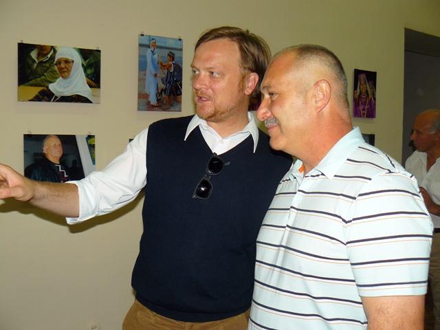 Олег Параскив и Андрей Пермяков