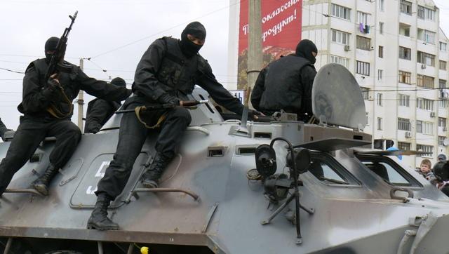 Евпатория милиция БТР