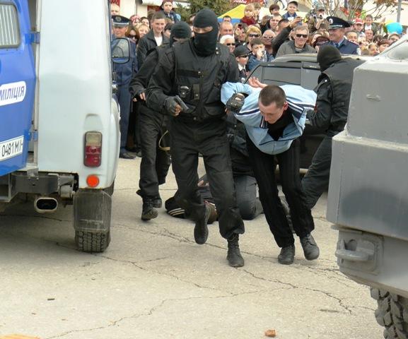 Евпатория 2009 задержание преступника