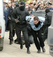 Задержание преступника в Евпатории