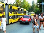 Евпатория 2010 трамвай