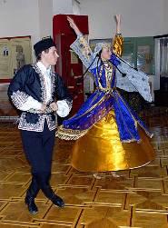 Крымчакский танец в музее Евпатория