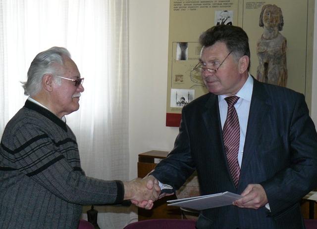 Юрий Корнилов и Михаил Пиастро