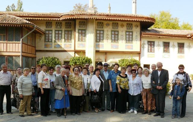 Крымчаки Крыма Бахчисарай 2009