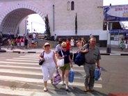 Туристы из России в Крыму