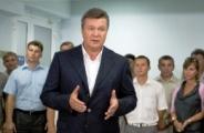 Виктор Янукович в Крыму