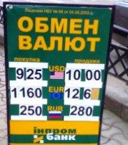 Курс обмена валют 24 февраля