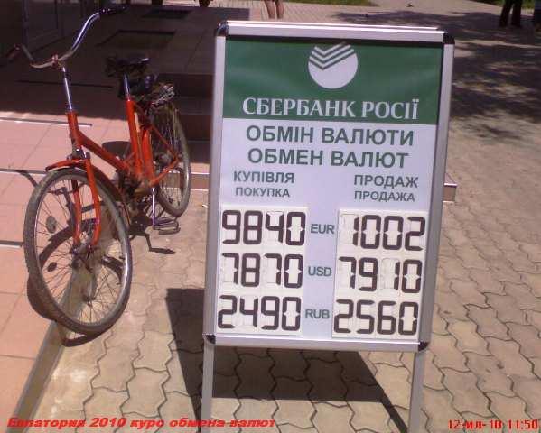 Сбербанк курс валют на сегодня