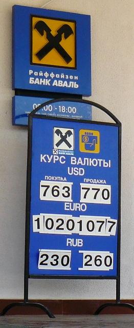 Курс обмена валют в киеве