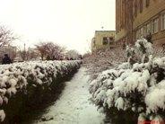 Зима вернулась в Евпаторию