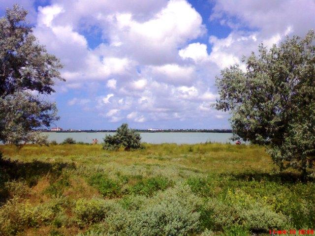 Евпатория вид на озеро Мойнаки