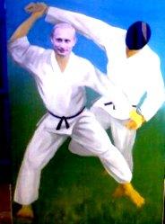 Владимир Путин в Евпатории