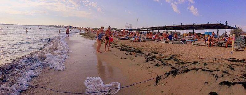 Пляж санатория Мечта