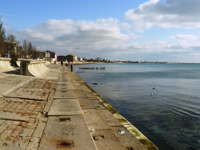 Набережная Крым Евпатория