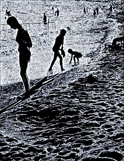 Евпаторийский пляж