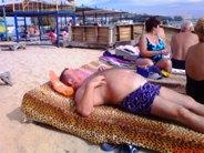 Евпатория сентябрь пляж