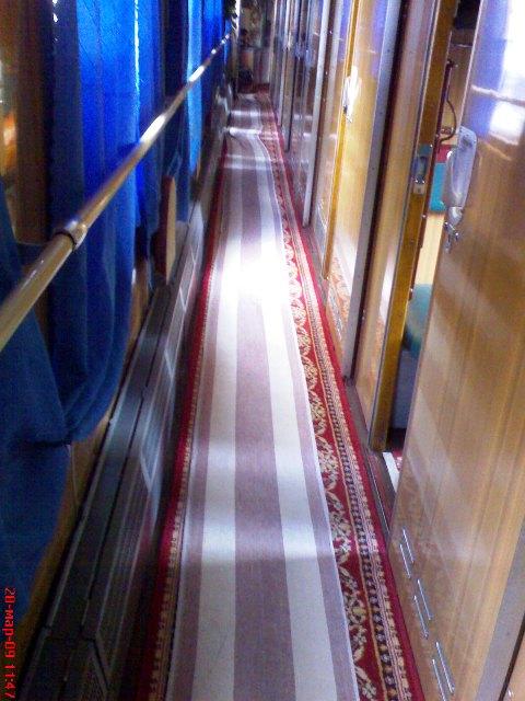 Фирменный поезд Симферополь - Москва