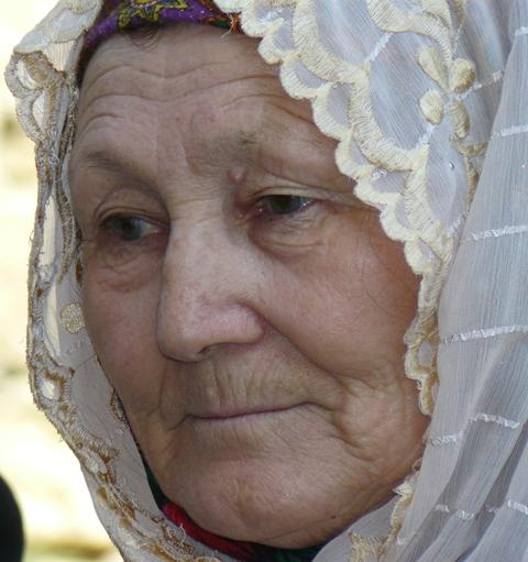 Потрет крымской татарки