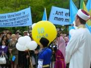 Митинг крымских татар в Евпатории