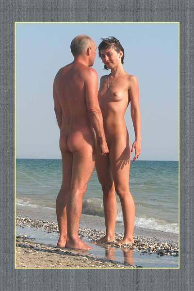 фото пары нудистов на природе