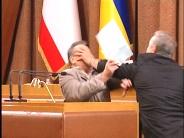 Драка в парламенте Крыма