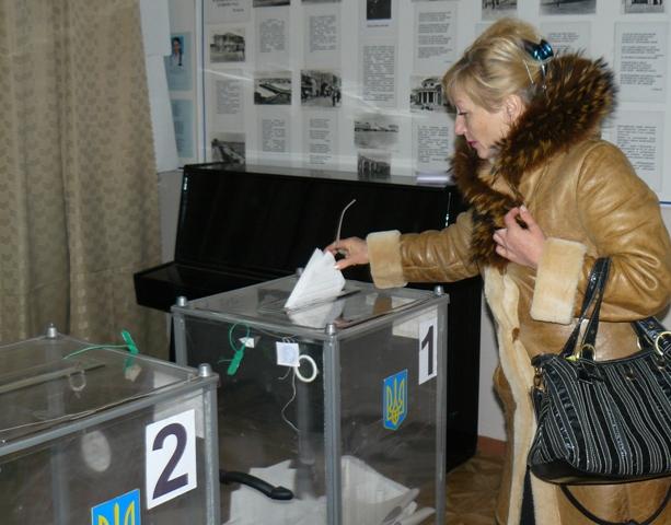 Евпатория выборы президента Украины.