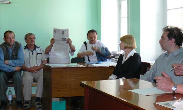 Юрист из Нашей Украины человек скромный