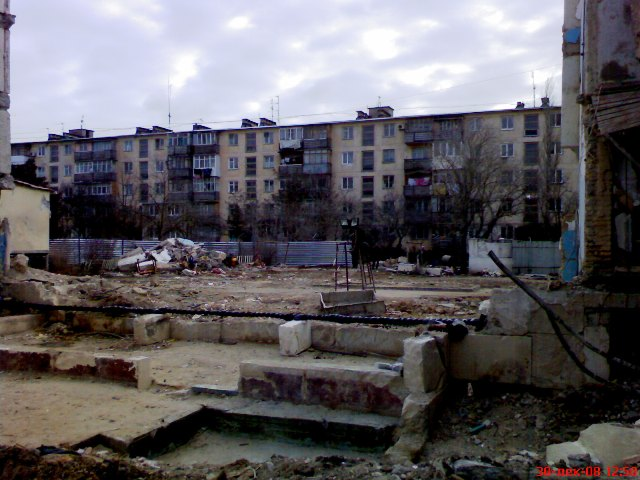 Взрыв жилого дома в Евпатории