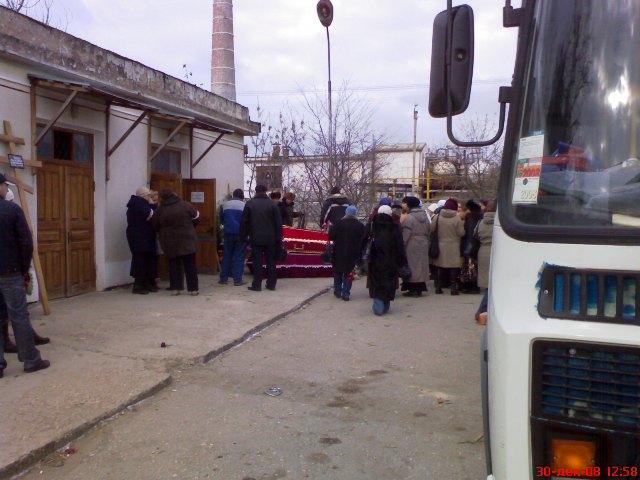 Похороны погибших в Евпатории