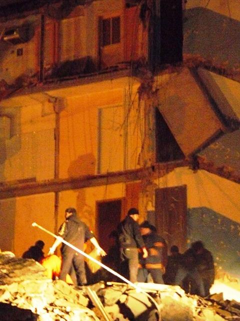 Взрыв дома в Евпатории
