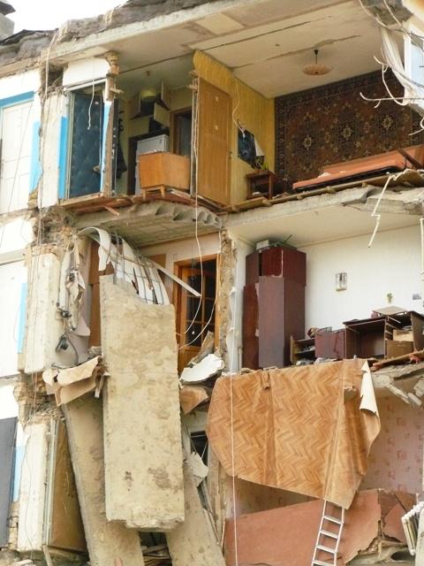 Евпатория взорванный дом