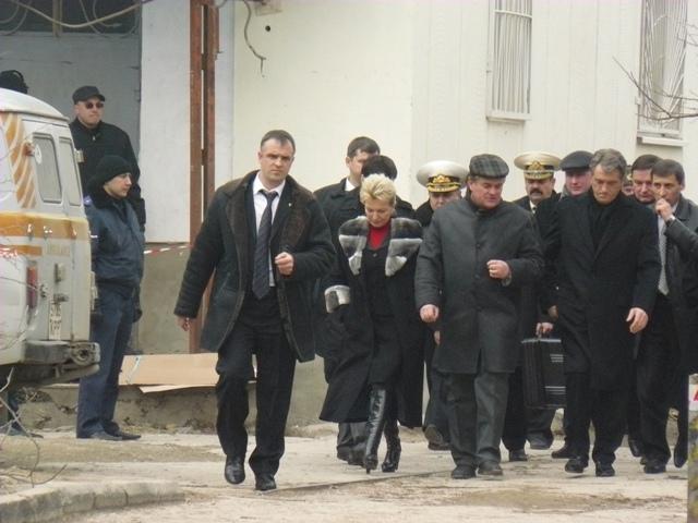 Виктор Ющенко в Евпатории