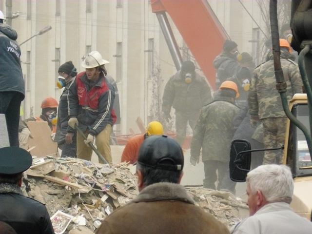 Взрыв в доме Евпатория